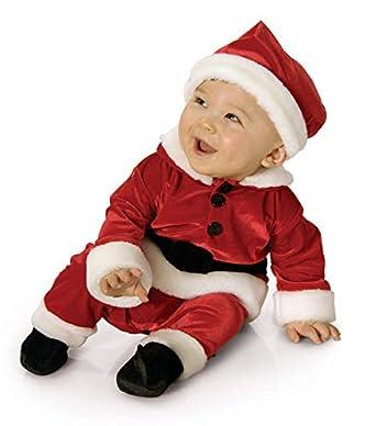 Amazon.com: Rubie s traje de Santa de terciopelo: Clothing