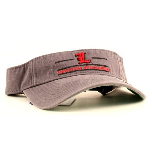 (NCAA Officially Licensed Louisville Cardinals Embroidered 24/7 Visor)