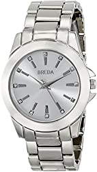 Breda Women's 2389A Rhinestone-Accented Watch