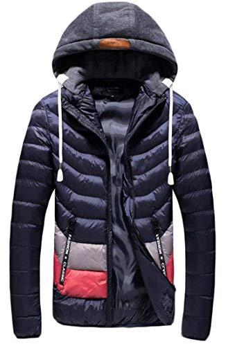 À Matelassé Amovible Coton Homme Pour De D'hiver 1 Vêtements Kangqi Capuche En Hommes Veste Rx80H4