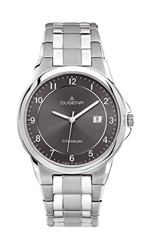 Men's Wristwatch, titanio, color: grigio - Dugena 4460513