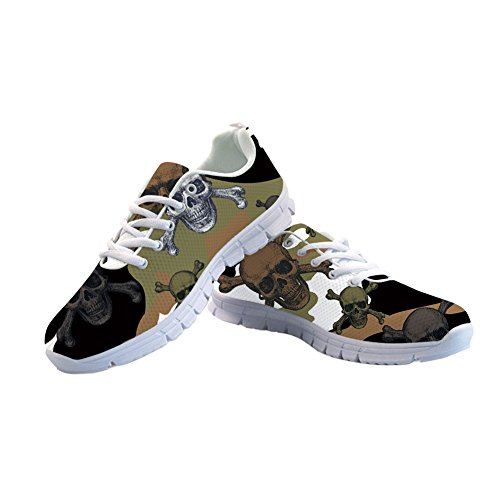 Skull Donna Basso Nopersonality Collo Camouflage 1 qYf0IIwp4