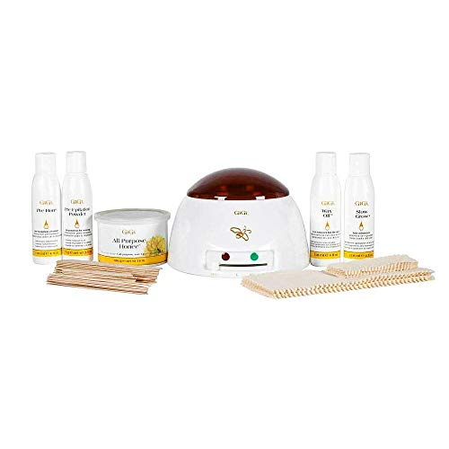 GiGi Student Starter Hair Removal Waxing Kit (Best Way To Remove Makeup From Carpet)