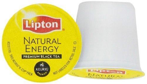 Lipton Natural Energy Premium Black Tea 54 Ct K-Cups by Horarary