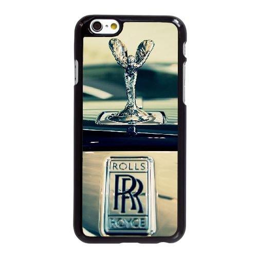 U1Q75 ROLLS ROYCE H9F6GI coque iPhone 6 Plus de 5,5 pouces cas de couverture de téléphone portable coque noire RV4UNN5HY