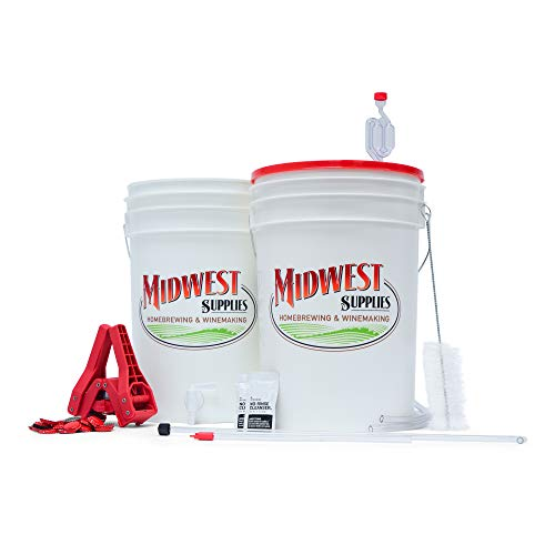 Midwest Supplies Beer. Simply Beer. - HomeBrewing Beer Brewing Starter Kit - Equipment for Making 5 Gallon Beer Batches