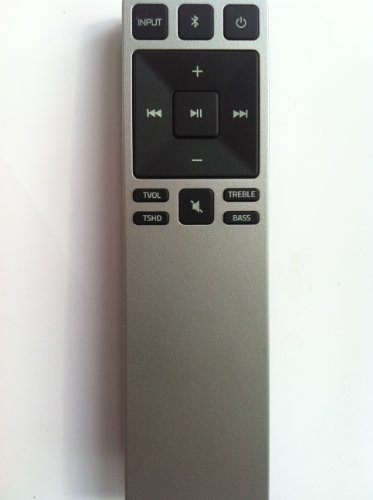 New XRS321 Remote Control for VIZIO S3821w-c0 S3820w-c0 S2920w-c0 Vizio 2.1 and Vizio 5.1 Home Theater Sound Bar