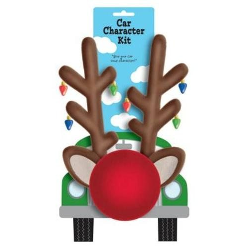 Amscan Festive Christmas Reindeer Car Decoration Kit Party Supply, Plastic Party Supplies for $<!--$20.71-->