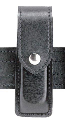 (Safariland 76 Single Magazine Pouch, Black, STX Tactical, Black Plastic Snap)