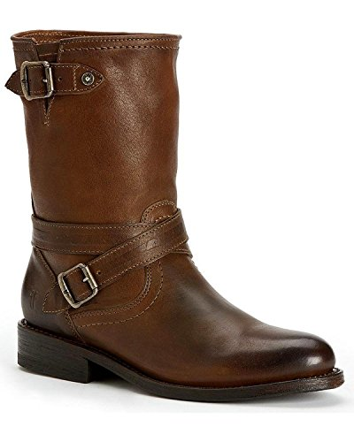 Frye Mujeres Jayden Cross Engineer Bota Round Toe - 76316-tpe Taupe