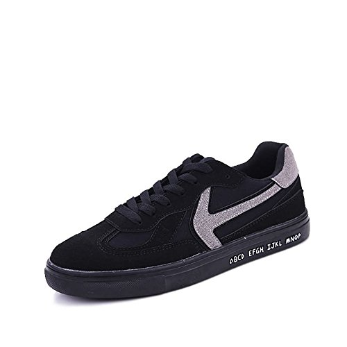 Dimensione amp;Baby Black Color all'abrasione uomo EU Black Red Gray Resistente Sunny da Sneaker 41 AdHzAq