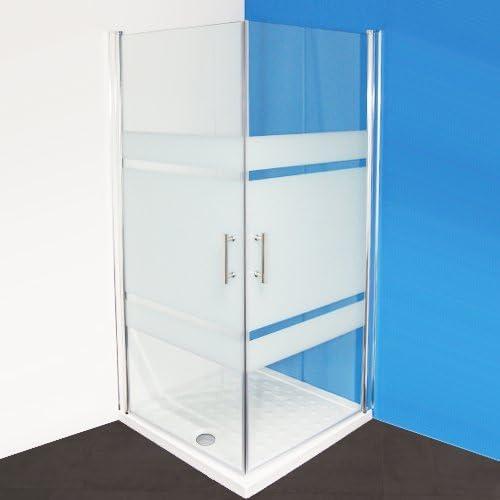 Cabina de ducha adk300 esquina ducha Mampara con esquina. y empuje 70 x 70 x 185: Amazon.es: Bricolaje y herramientas