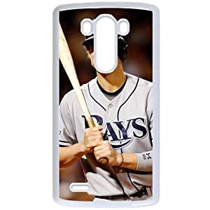 MLB&LG G3 White Tampa Bay Devil Rays Gift Holiday Christmas Gifts cell phone cases clear phone cases protectivefashion cell phone cases HMFN635585247