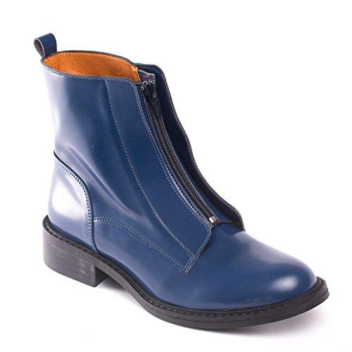 Bottes Végétalien Femme Bleu Nae Zipme 0wSqB6x4n
