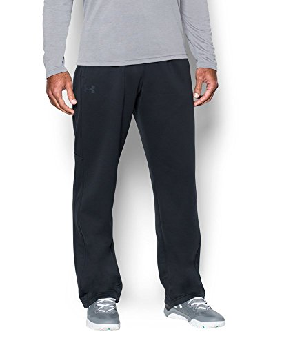 Under Armour Men's Storm Armour Fleece Pants, Black/Black, Medium by Under Armour (Image #2)