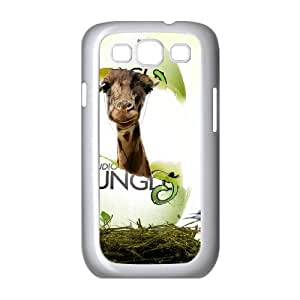 Cute animal giraffe Case Cover Best For Samsung Galaxy S3 FKLB-T526324