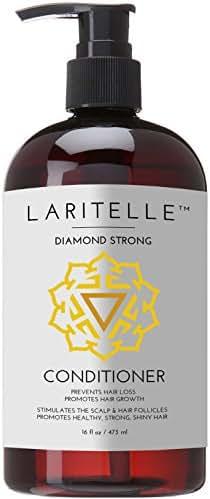 Laritelle Organic Conditioner 16 oz. Rosemary, Ginger, Cedarwood. Promotes Hair Growth, Prevents Hair Loss GF