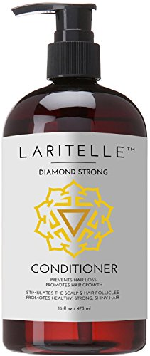 Laritelle Organic Conditioner 16 oz. Rosemary, Ginger, Cedarwood. Promotes Hair Growth, Prevents Hair Loss GF by Laritelle