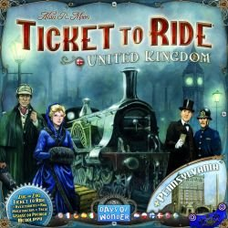 United Kingdom And Pennsylvania Ticket To Ride Expansion