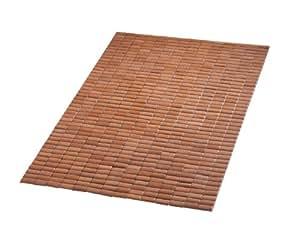 Ridder 7950309 - Alfombra de bambú para baño (90 x 90 cm)