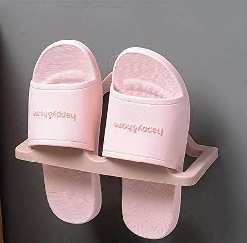 CHLCH Zapatillas de baño Perchero Gancho de baño Zapatos de ...