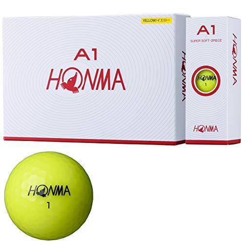 [골프공] 혼마 골프 HONMA 골프 볼 A1 BT1905 (색상: 옐로우, 화이트, 오렌지, 멀티)