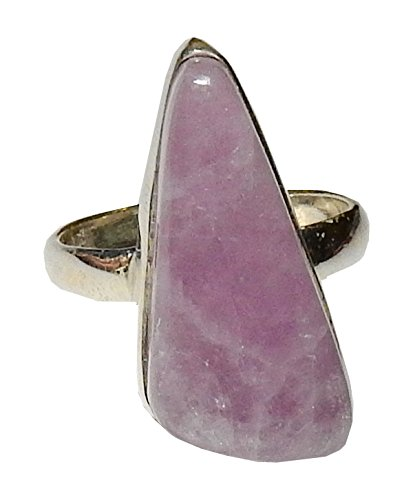Kunzite Ring (Kunzite Ring 02 Natural High Vibration Spiritual Energy Size 8 (Gift Box))