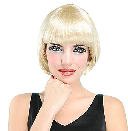 el carnaval peluca charleston rubia