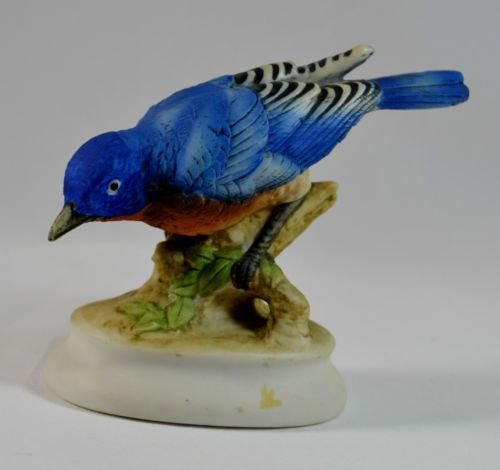 Lefton China Bluebird Figurine
