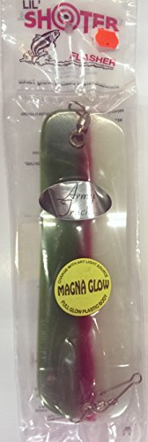 Oki Lil Shooter 8 Inch Flasher - Magna Glow Army Truck by Oki Tackle