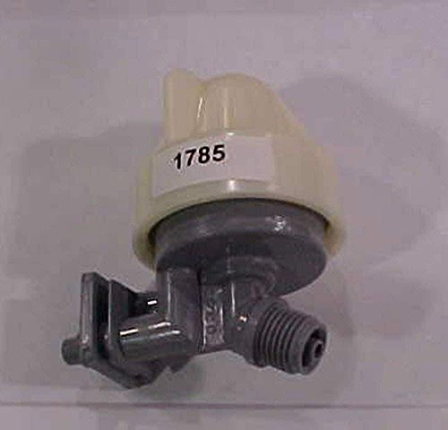 Kenmore 7187065 Water Softener Nozzle and Venturi Assembly Genuine Original Equipment Manufacturer (OEM) Part for Kenmore & Whirlpool, Gray and White