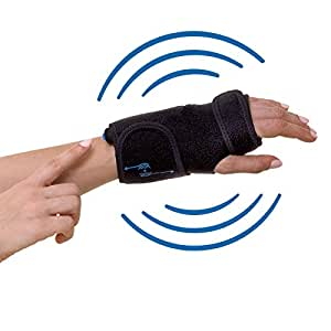 CarpalCure brace (LEFT HAND)- GUARANTEED Pain Relief WITH ONE BUTTON CLICK. Effective With Carpal Tunnel Syndrome, Tendonitis & Arthritis, Sprained Wrist And More. PERFECT For Day And Night Use