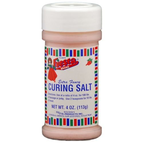 Bolners Fiesta Curing Salt for Jerky, Sausages or Smoking...