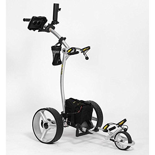 Bat Caddy X4 Electric Golf Caddy/Trolley/Cart + FREE Accessory Pack - Power Caddy Golf Carts