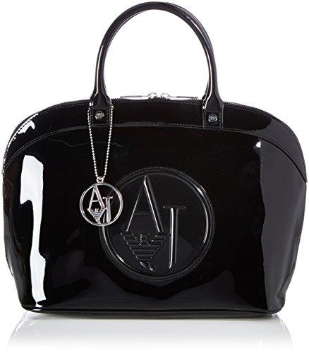 Armani Jeans Shoes & Bags DE - 05230RJ, Borsa a tracolla Donna Nero (Nero - Black 12)