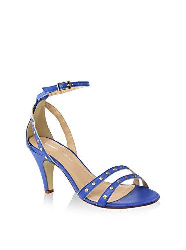 Giorgio Picino Sandalias de tacón Azul Royal EU 40