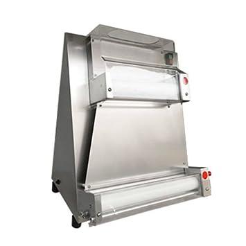 Automático Pizza Pan Pizza rodillo de masa hojeadora Máquina panificadora: Amazon.es: Hogar