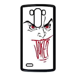 LG G3 Cell Phone Case Black Smile Joker LV7097366