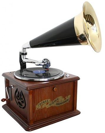 Soundmaster NR 911 - Tocadiscos (Tocadiscos de tracción directa ...