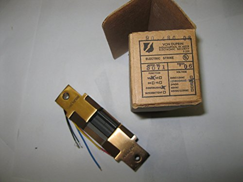 Von Duprin 3071 Electric Door Strike 24vdc 24 VDC NOS old stock NEW by Von Duprin