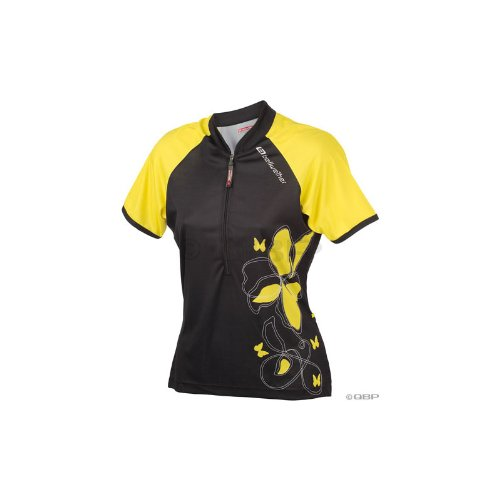Bellwether Women's Venus 1/2 Zip Cycling Jersey Black Medium