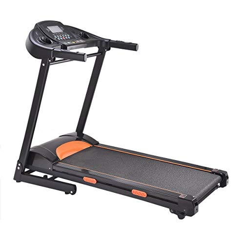 Huldaqueen Electric Jogging Machine 1000W Folding Treadmill WT508 Motorized Running Machine Household Body Building Equipment