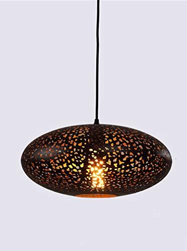 Colgante Vendimia Redondo Lámpara Del De Led Diseño Creativa La 9WHIEYD2