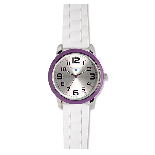 - Nurse Mates Color Top Ring Watch Purple