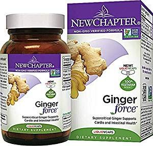 New Chapter, Ginger Force, 60 Count