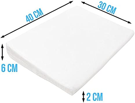 Monsieur B/éb/é /® Plan inclin/é 15/° d/éhoussable avec mousse /à m/émoire de forme anti-bact/érien Norme CE 40 60 ou 70 cm de large