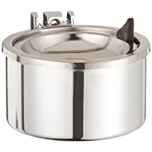 Rubbermaid Commercial Steel Smokers Station Wall Mount Urn, Round, 4.5-Inch Diameter x 3-Inch Height
