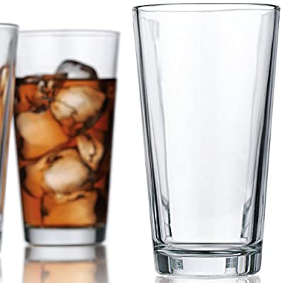 Attractive Set of 10 Hiball Drinking Glasses 17 Oz Home & Party Glassware Set