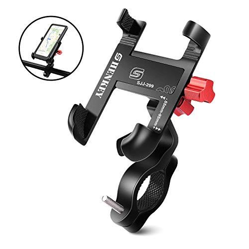360/° Rotaci/ón Anti Vibraci/ón Motocicleta Monta/ña Compatible con iPhone 11 Pro MAX//XS MAX//XR Samsung S20 y Otros 4.5-7.0 M/óvil Soporte Movil Bicicleta,Soporte Movil Moto