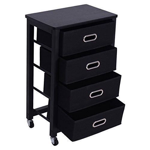 Giantex Rolling File Cabinet Heavy Duty Mobile Storage
